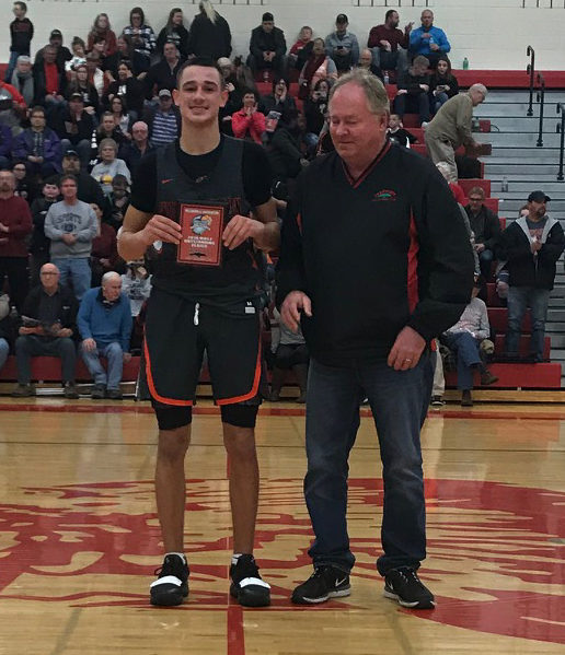 Wilmington vs. Hillsboro Wilmington's #4 Cameron Coomer was the Most Outstanding Player